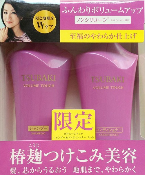 Dầu gội Shiseido Tsubaki Nhật óng mượt Chống rụng tóc nhiều