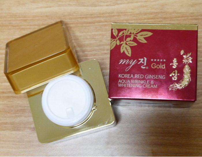 Kem dưỡng da Hồng Sâm My Gold Hàn Quốc
