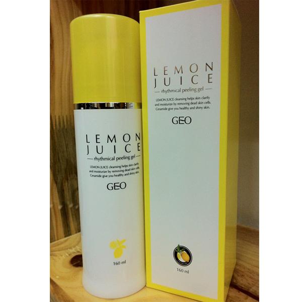 Sự thật kem tẩy da chết Geo Lamy Lemon Juice ít người biết