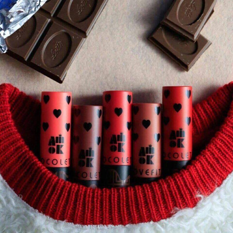 Son thỏi Amok Chocolate - ngọt ngào như viên kẹo!