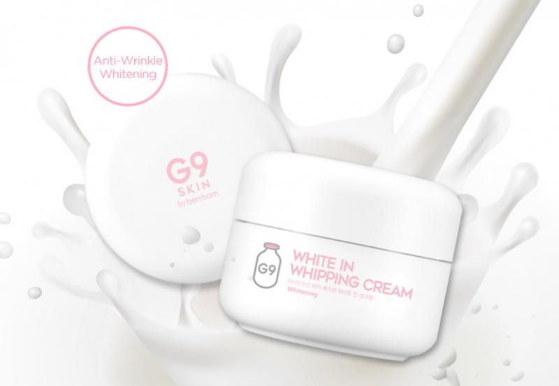 Kem trắng da G9 Skin White in Whipping Cream