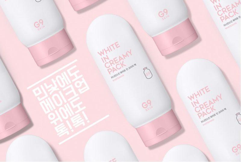 Kem ủ trắng da G9 SKIN White In Creamy Pack Whitening