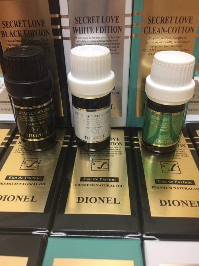 Nước Hoa Vùng Kín Dionel Secret Love eau de parfum 5ml