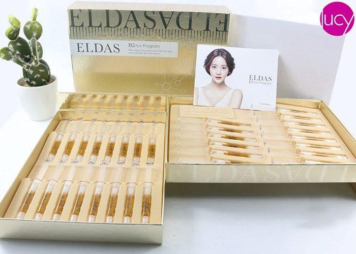Serum Tế bào gốc Eldas EG Tox Program Dưỡng Da Hàn Quốc