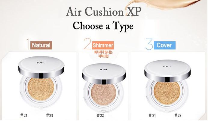 Phấn nước IOPE AIR CUSHION XP EX SPF50+ pa