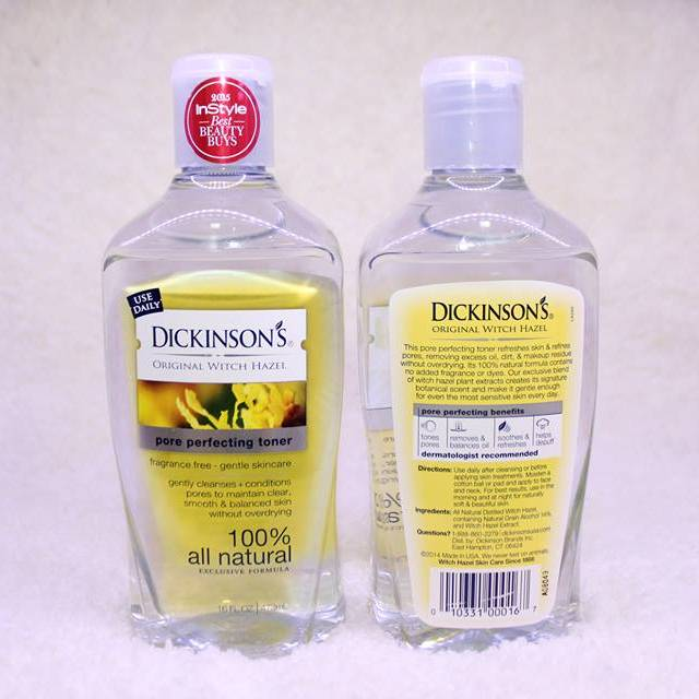 Nước hoa hồng Dickinson's Original Witch Hazel Pore Perfecting Toner