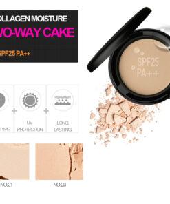 Phấn Karadium Collagen Moisture Two-way Cake SPF25 PA++