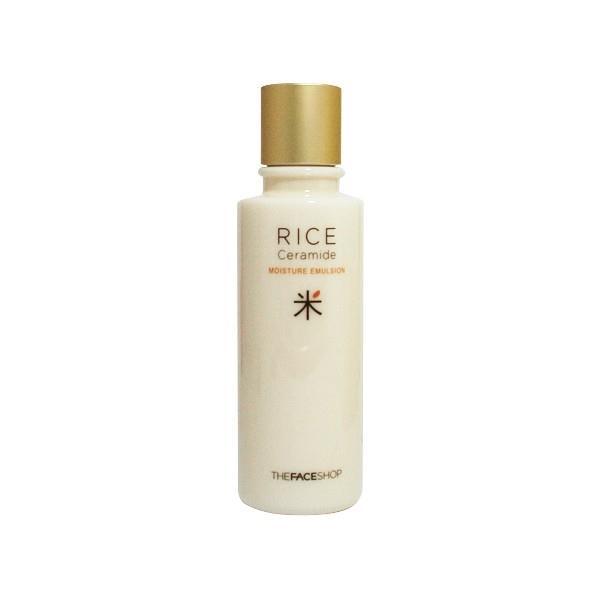 Sữa dưỡng Sáng Da Gạo Rice Ceramide moisture emulsion the face shop