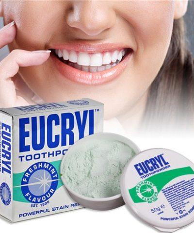 Bột tẩy trắng răng EUCRYL chính hãng