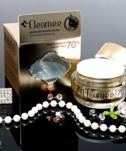 Kem dưỡng trắng da sữa lừa Cleomee Moisture Repair ban đêm