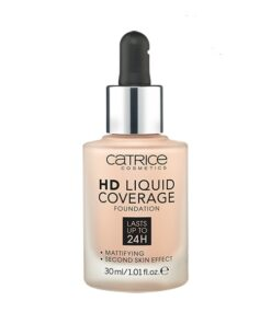 Kem nền Catrice HD Liquid Coverage 010 Light Beige