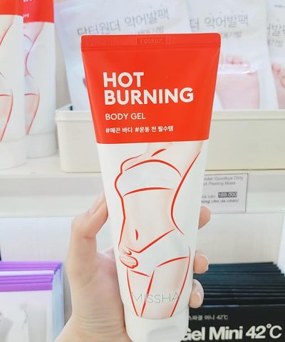 Kem tan mỡ Missha Hot Burning Perfect Body Gel
