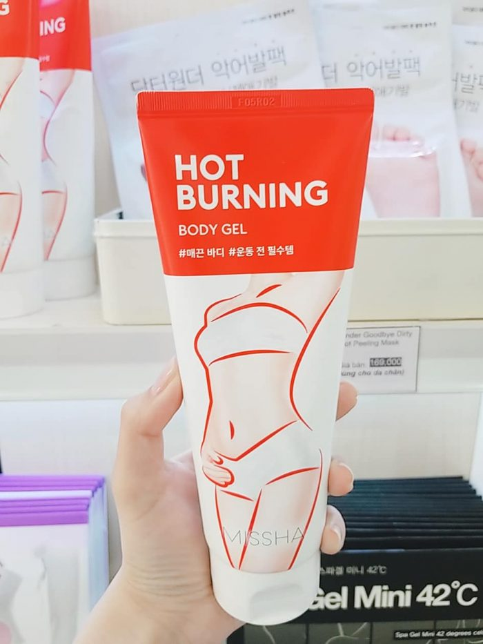 Kem tan mỡ Missha Hot Burning Perfect Body Gel