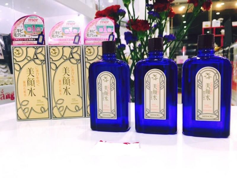 Lotion đặc trị mụn Meishoku Bigansui Medicated