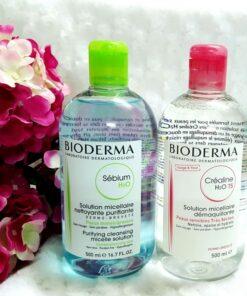 Nước tẩy trang bioderma micellar cleansing water