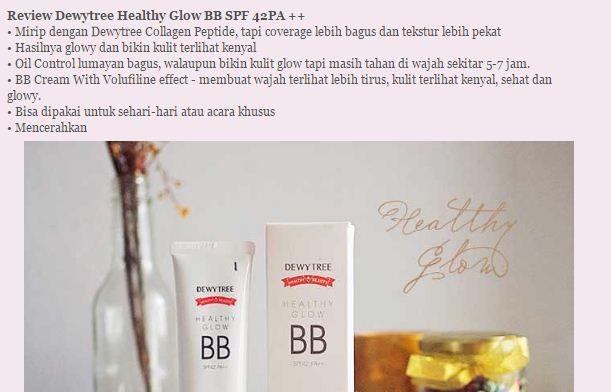 BB cream Dewytree Healthy Glow – siêu phẩm biến hóa mọi cô gái