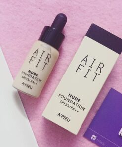 Kem nền Apieu Air Fit Nude Foundation