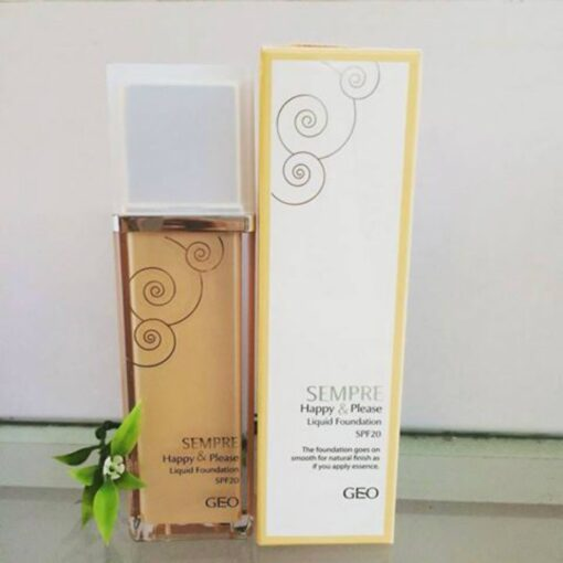 Kem nền Geo Lamy Sempre Happy & Please Liquid Foundation