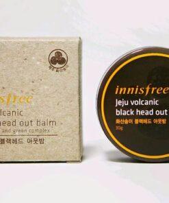 Sáp trị mụn đầu đen Innisfree Jeju Volcanic Black