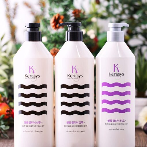 Dầu Gội Kerasys Hair Clinic System shampoo phục hồi tóc hư tổn