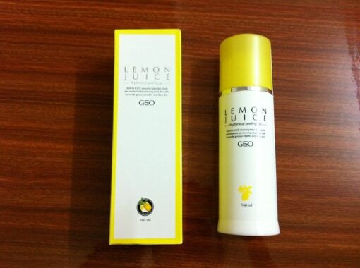 Kem tẩy da chết Geo Lamy tinh chất chanh lemon juice