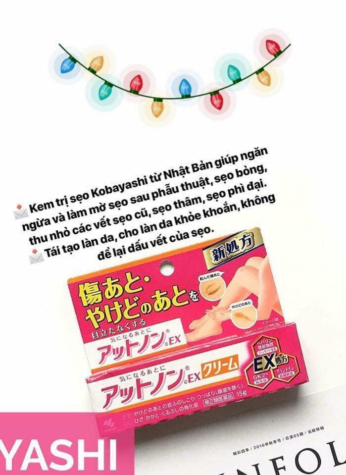 Kem trị sẹo Nhật Bản Kobayashi