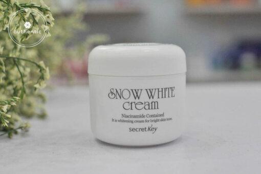 Kem dưỡng da Snow White Cream Secret Key trắng da mịn màng