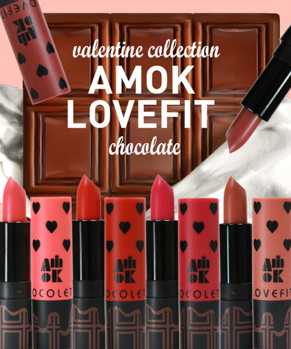 Image result for AMOK Lovefit Chocolate Lipstick