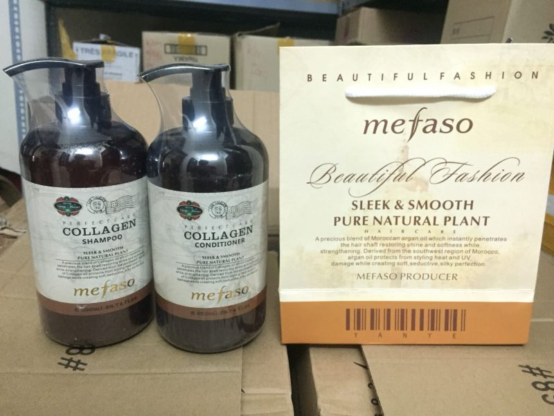 Bộ gội xả Mefaso Ý