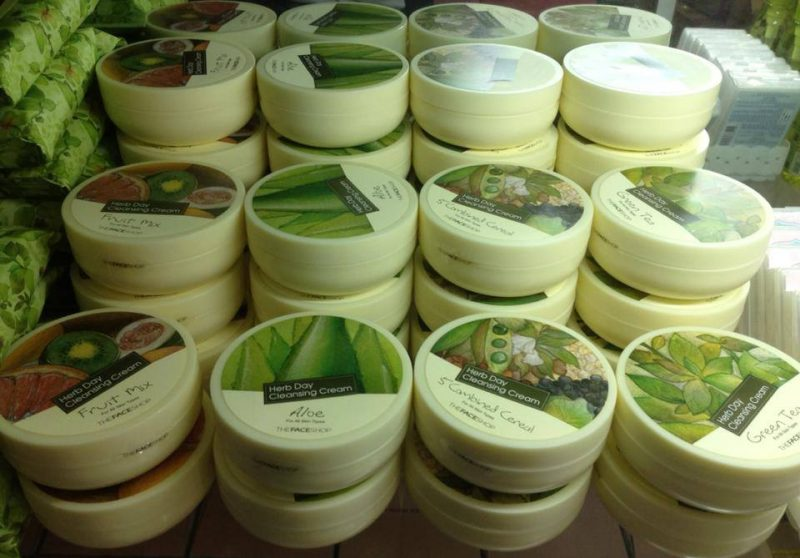 Kem Tẩy Trang Herb Day 365 Cleansing Cream The Face Shop