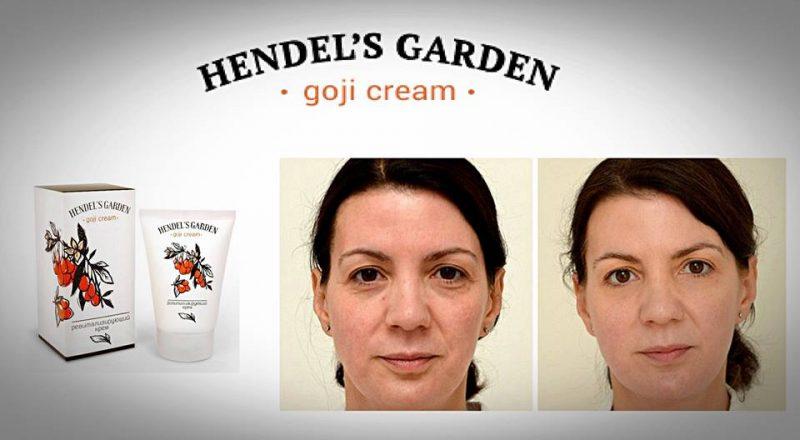 Kem chống nhăn hendel's garden goji cream Nga