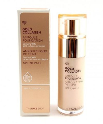 Kem nền Gold Collagen The Face Shop