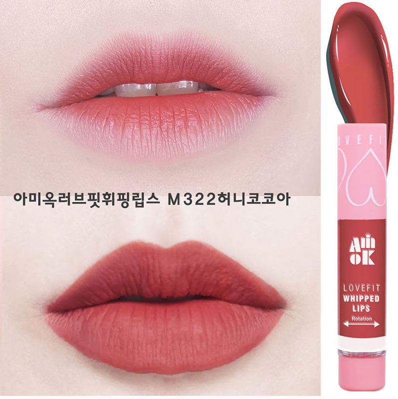 Son kem Amok Lovefit Whipped Lips