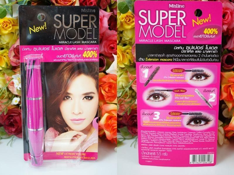 Mascara 2 đầu mistine super model