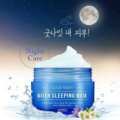 Mặt nạ ngủ Apieu good night water sleeping