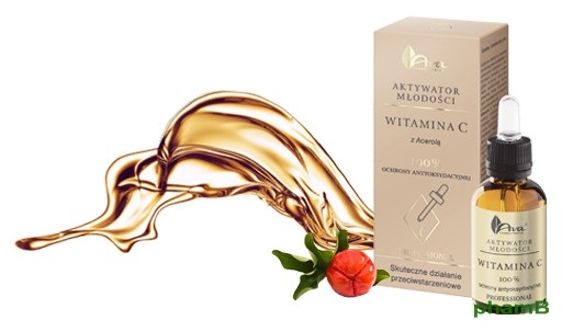 Serum Vitamin C Ava Youth Activation Ba Lan trắng da trị nám