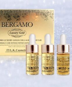 Set serum Bergamo 4 lọ