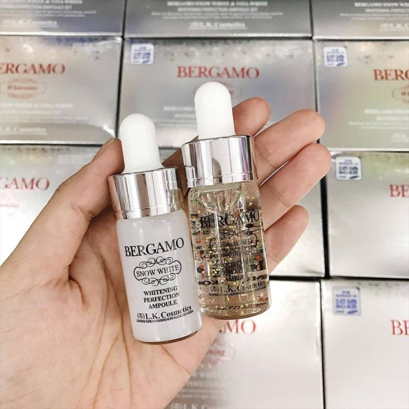 Serum Bergamo Luxury Gold Collagen & Caviar