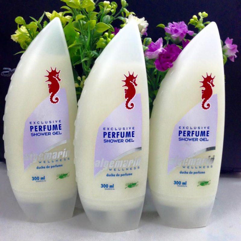 Sữa tắm cá ngựa Algemarin Perfume shower gel 300ml của Đức