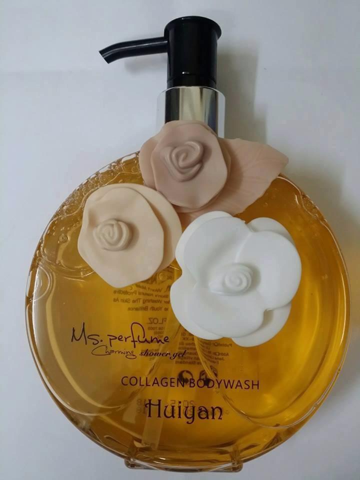 Sữa tắm nước hoa Huiyan Collagen Body Wash Ms.Perfume 400ml