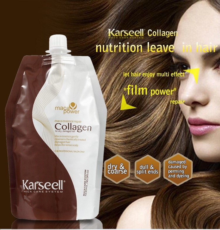 Ủ tóc Collagen Karseell Maca 500 ml
