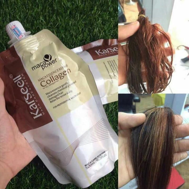 Ủ tóc Collagen Karseell Maca 500 ml