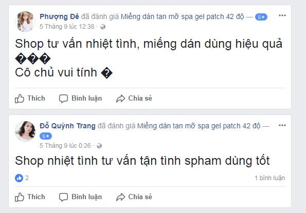 Miếng Dán Tan Mỡ Bụng Spa Gel Patch 42°C Hàn Quốc