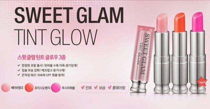 Son dưỡng có màu Secret Key Sweet Glam Tint Glow