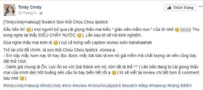 Son thỏi Chou Chou Signature Premire Matt Rouge