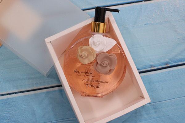 Sữa tắm nước hoa Huiyan Collagen 400ml của Pháp