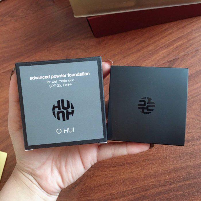 Phần nền che khuyết điểm Ohui Advanced Powder Foundation SPF 35/PA++