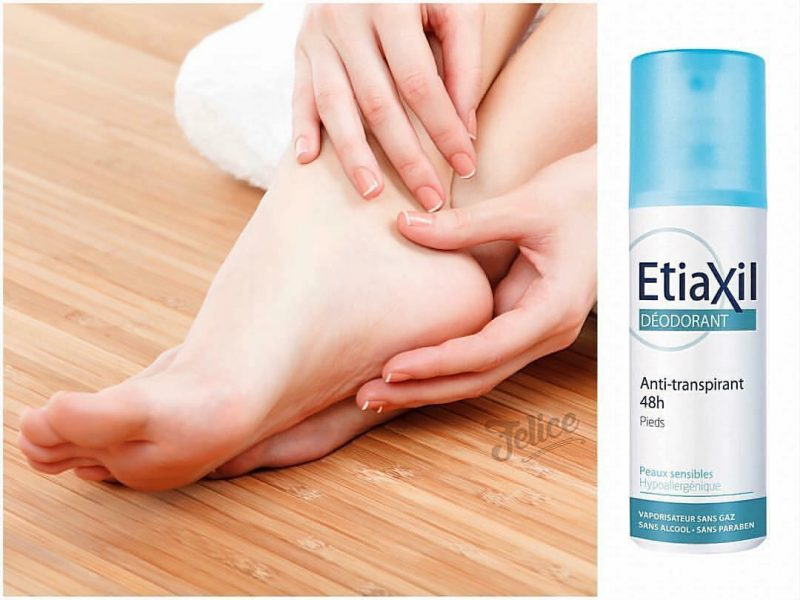 Xịt khử mùi Etiaxil Deodorant Anti-transpirant 48H 100ml