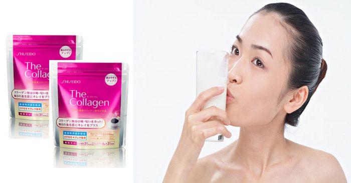 Shiseido the collagen dạng bột mẫu mới