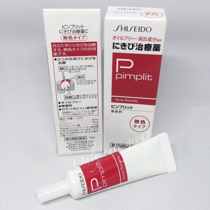 Kem trị mụn Shiseido Pimplit Acne Remedy 15g